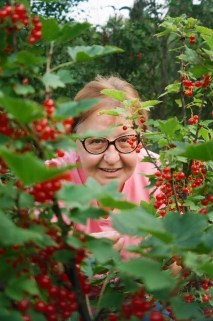 In the berries
